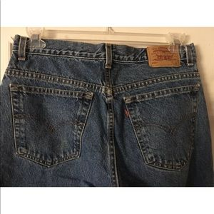 Levi's 550 Husky Relaxed Fit Jeans 34 X 28